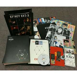 EXO PHOTOBOOK W/FREEBIES