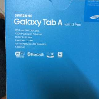 Samsung Tab A With s Pen. 16gb. Wifi With. 32gb Sd Card