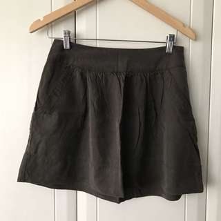 Forever 21 Army Green Skirt Size S