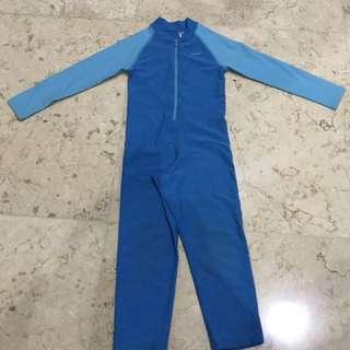 Baju Renang Anak Laki-laki Merk Speedo Size 4 Tahun