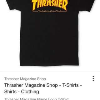 收購Thrasher短T