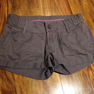 Grey khaki shorts