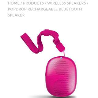 POP DROP BLUETOOTH HANDY SPEAKER