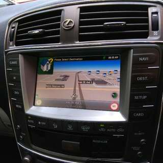 is250 touch screen head unit