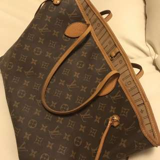 LV Neverfull Collection Medium Size