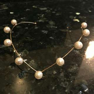 Pearl Hairband Accessory