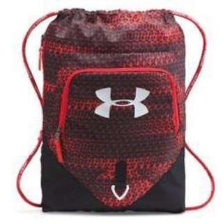 under armour undeniable sackpack red