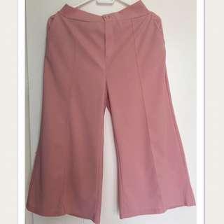 Peach Flare Pants