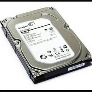 HardDrive 1TB  (WESTERN DIGITAL AND SEAGATE)