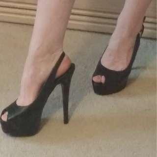 """Steve Madden 6"""" heels (10) #BlackFriday50"""