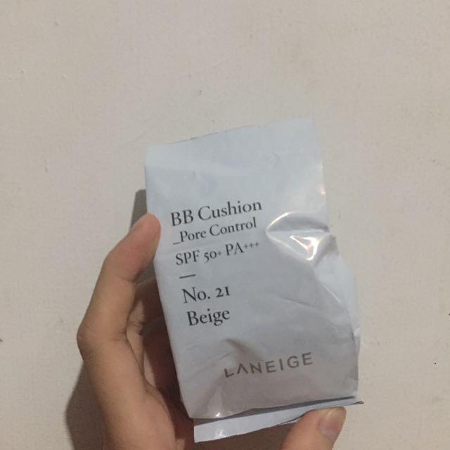(含運)蘭芝氣墊粉餅補充包 21號自然控油版