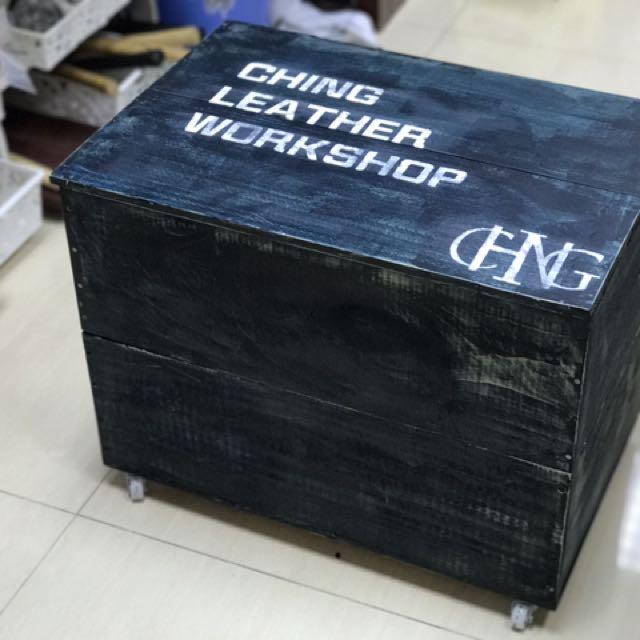 度身訂造木箱 可自訂顏色 字句