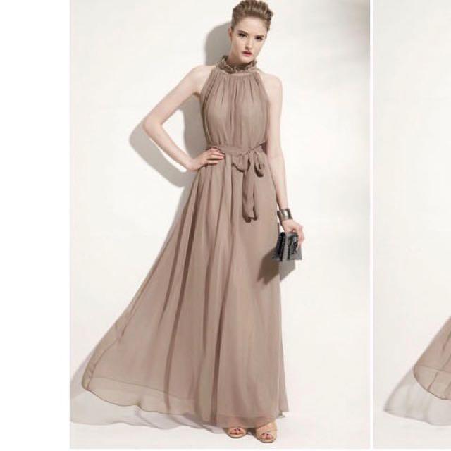 伴娘 重要場合 主持禮服 歐美系長洋裝