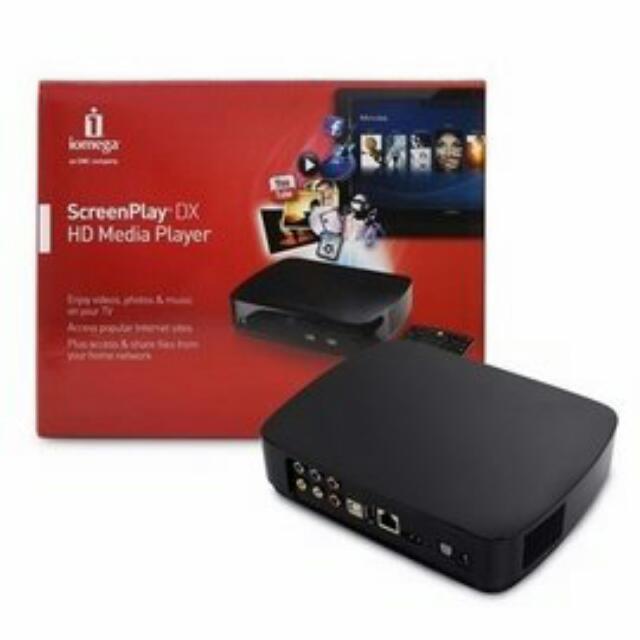 😭三折😭 全新 iomega Screenplay DX HD多媒體撥放器