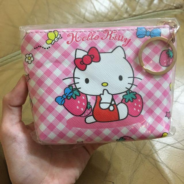 全新 Kitty零錢包