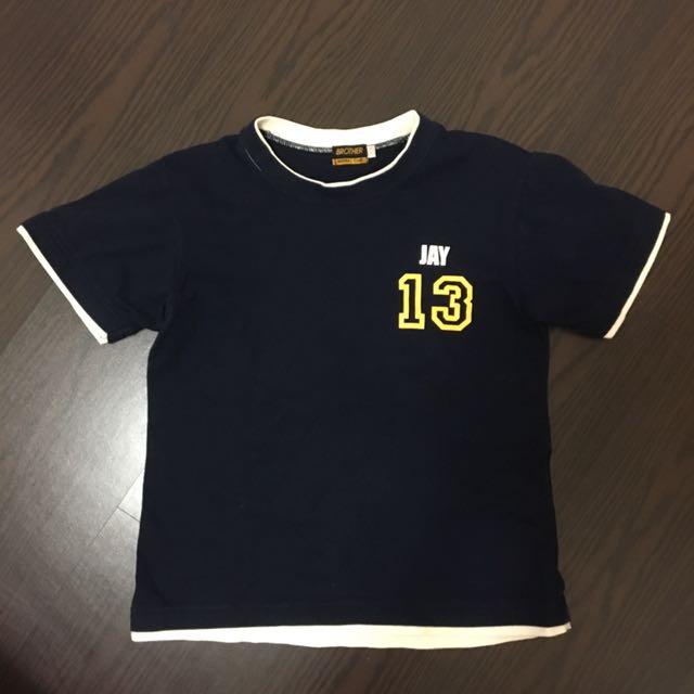 二手 女生 兄弟象棒球T恤