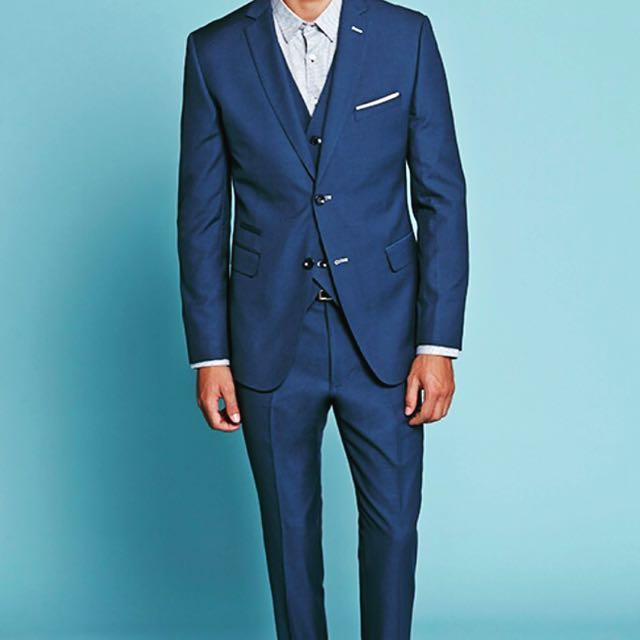 Men\'s Tailor / Blue Suit / Plaid Jacket / Blazer / Handstitch Suit ...