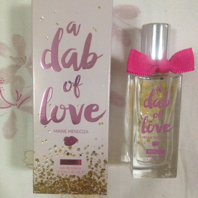 REPRICED - A Dab Of Love Bench Perfume
