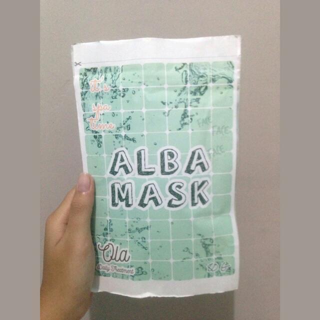 Alba Mask (Masker Wajah)