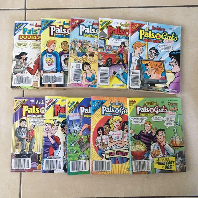 Archie Comics (Pals n' Gals Double Digest)