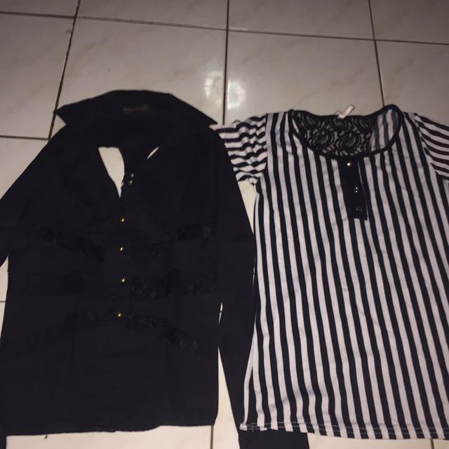 Black And Stripe @ 25rb
