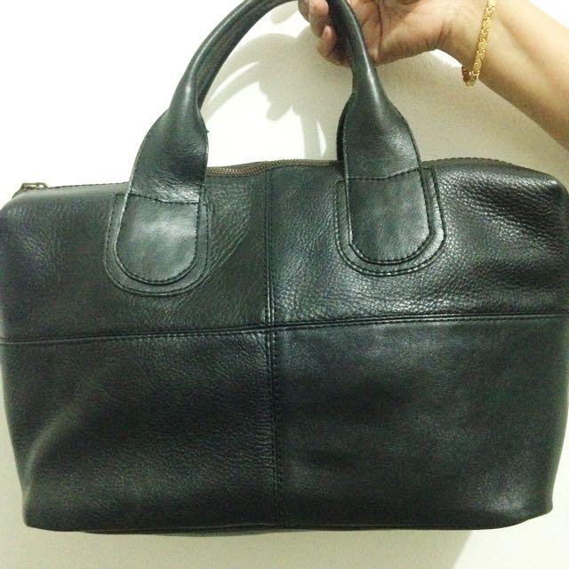 Black Custom Handbag
