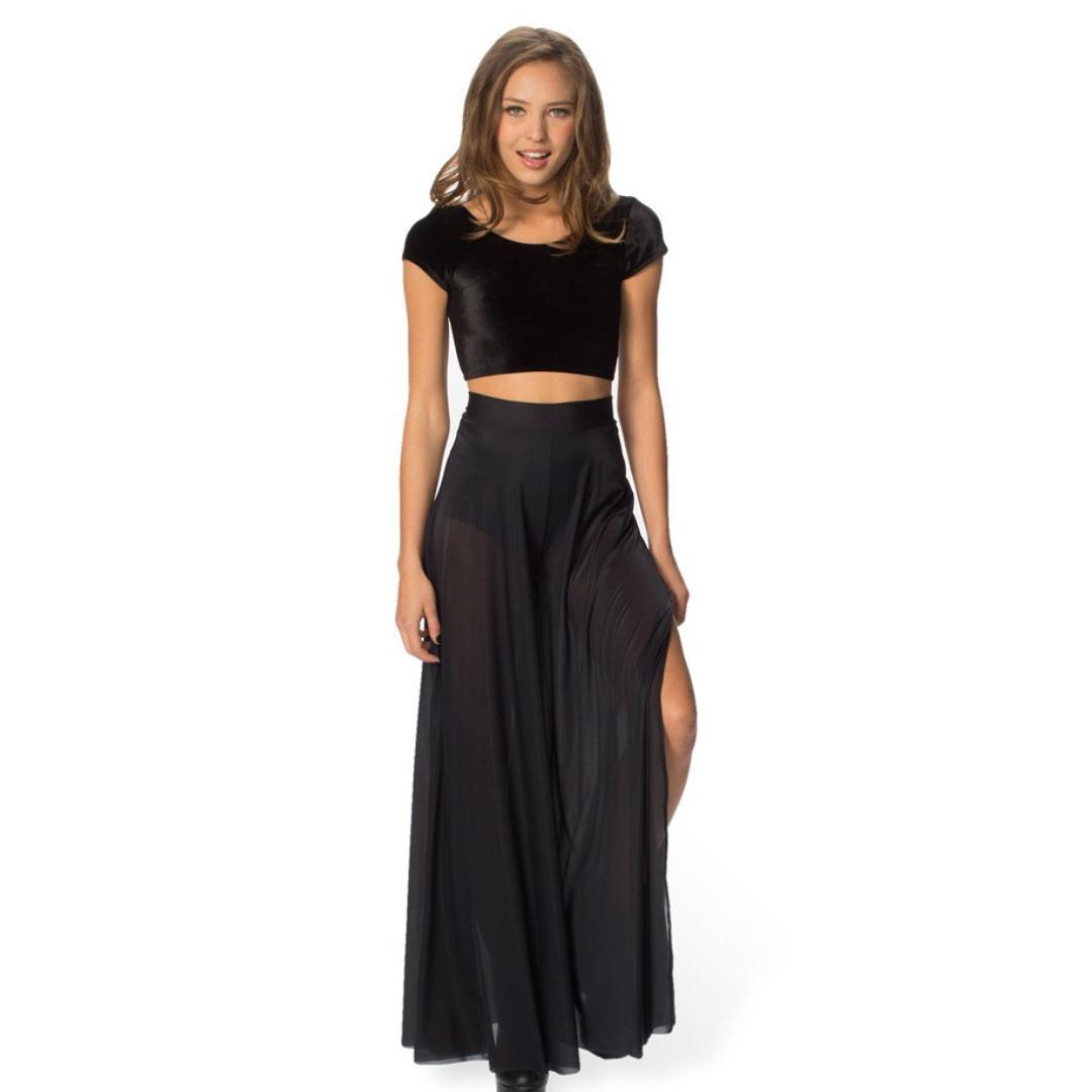 Black Milk - Sheer Retro Pants - Size Medium