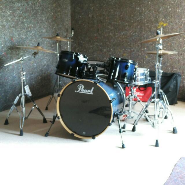 Blue Pearl Drum