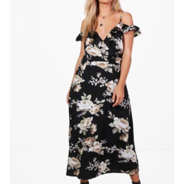 Boohoo Plus (size 14 Canadian) Dress