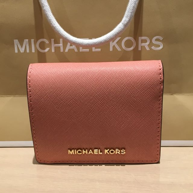 6c2a2058623e Brand New Michael Kors - Jet Set Travel Saffiano Leather Wallet in ...