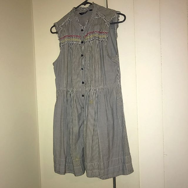 Button Up Dress
