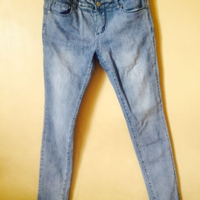 REPRICED: Cherokee Acid Wash Pants
