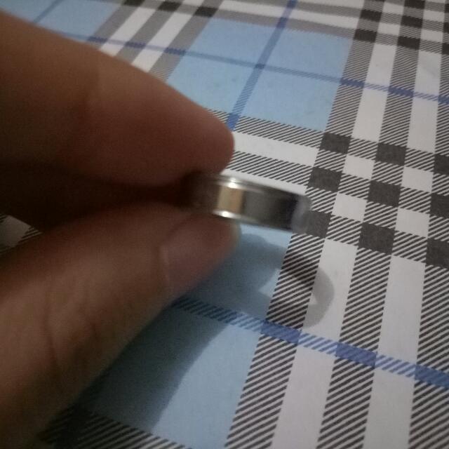 Cincin Emas Putih 16gr Tanpa Surat Luxury Accessories