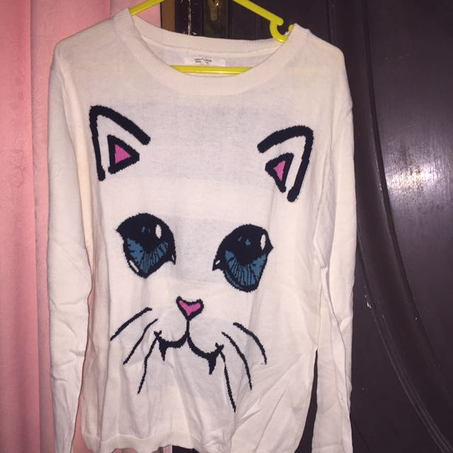 Colorbox Kitty Sweater