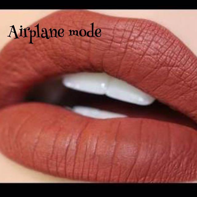 Colourpop Matte Liquid Lipstick In Airplane Mode