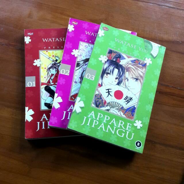 Comics Appare Ji Pangu 1-3