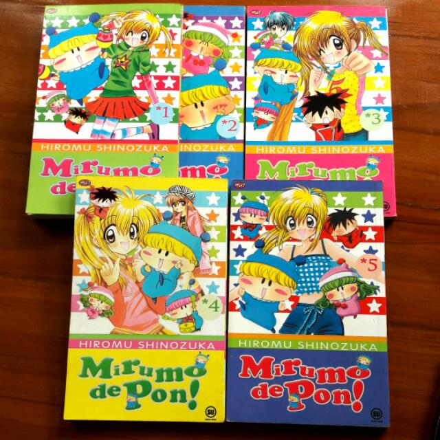 Comics Mirumo De Pon 1-5