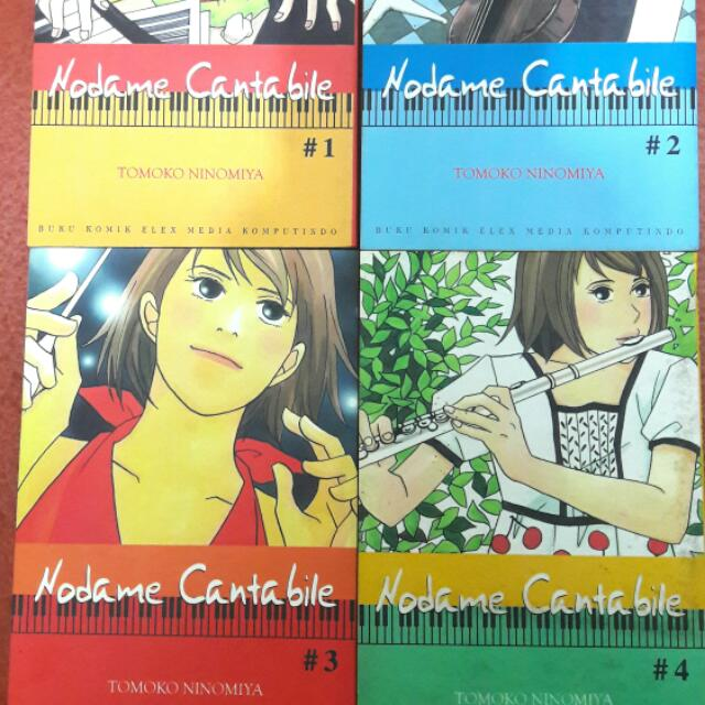 Comics Nodame Cantabile 1-4