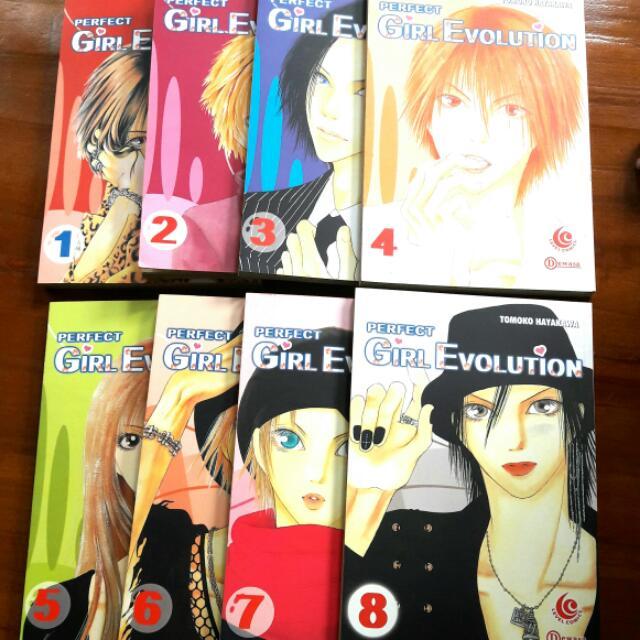 Comics Perfect Girl Evolution 1-8