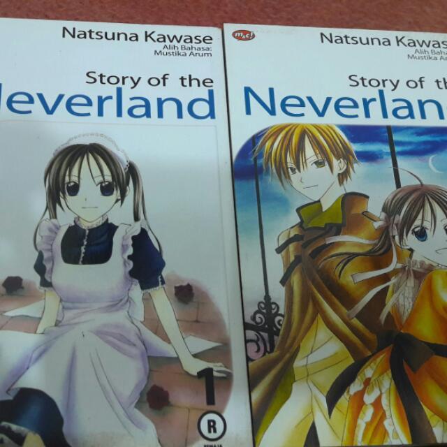 Comics Story Of Neverland 1-2