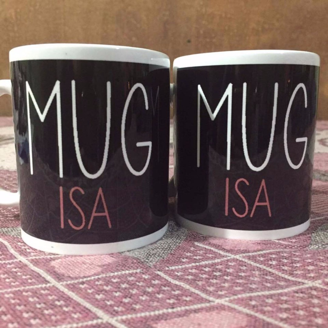 CUSTOMIZE MUG AND MAGIC MUG