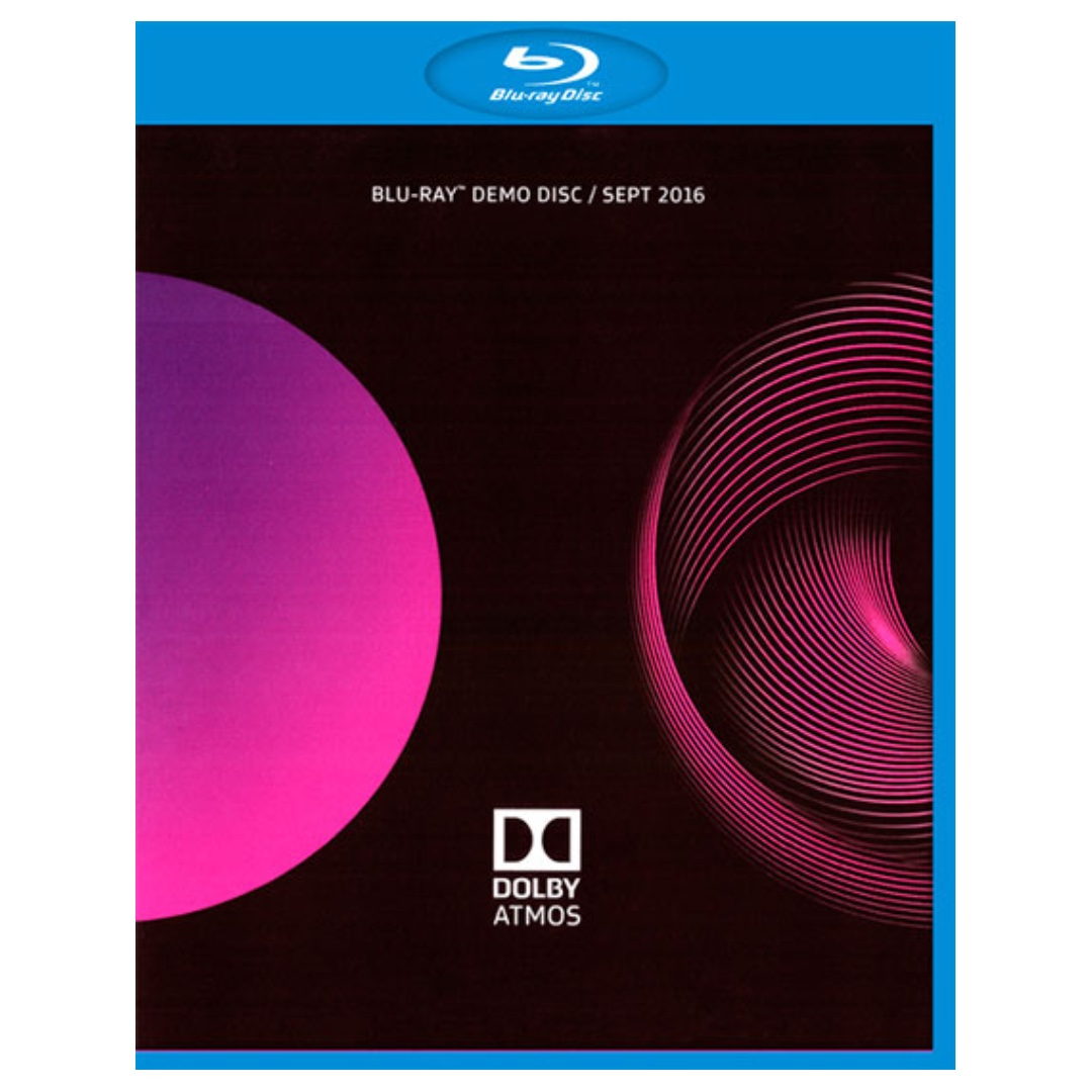 Other Media: Dolby Atmos Blu Ray Demo Disc (2016), Music & Media, CDs