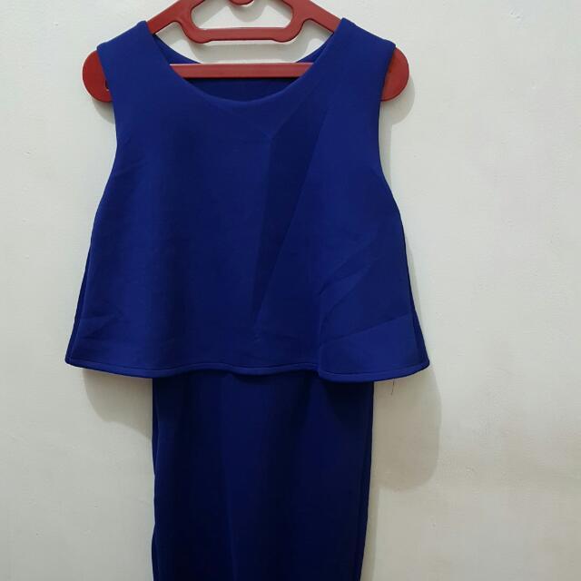 Dress Elec Blue