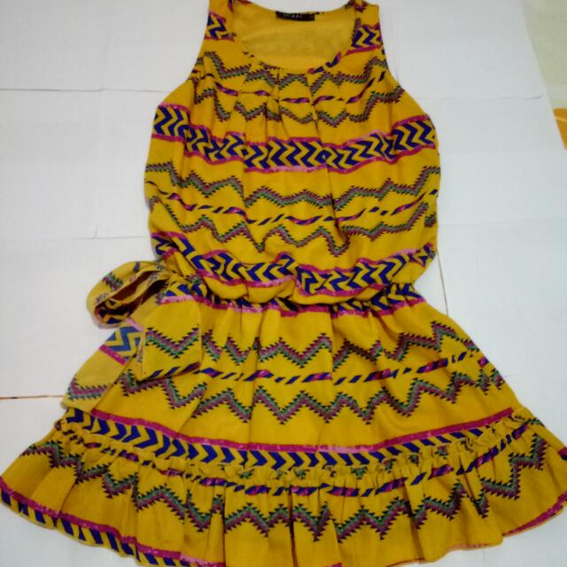 Dress Tribal Ikat Pita
