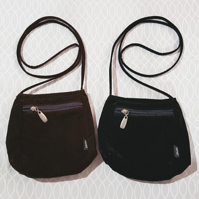ESPRIT Body Bags (Brown & Black)