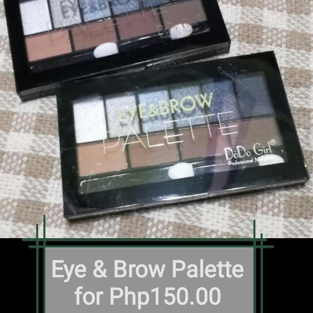 Eye & Brow Palette