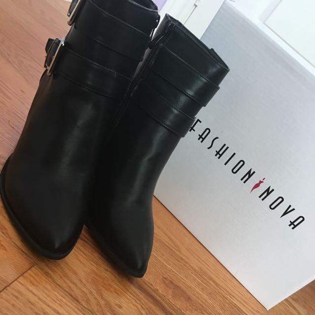 Fashion Nova Ankle Boots