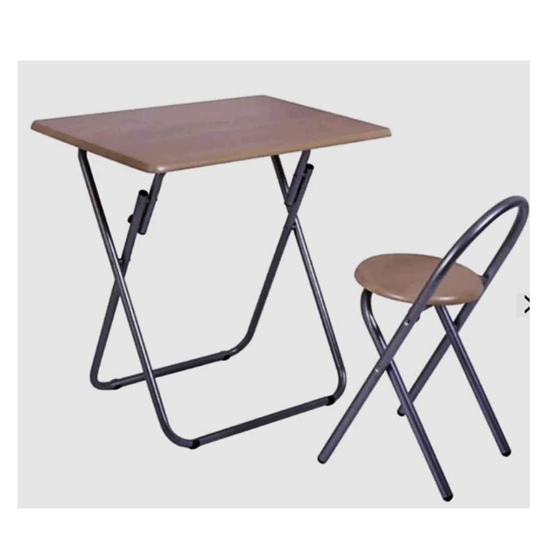 Folding Table And Folding Chair For Kidz FTC80 B, Home U0026 Furniture On  Carousell