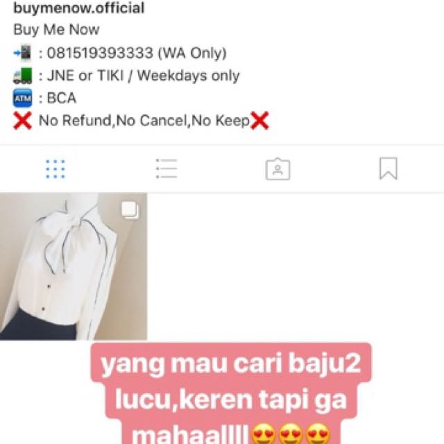 Follow my other ing @buymenow.official🙏🏻🙏🏻
