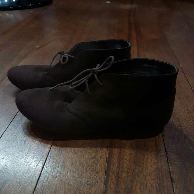 Forever 21 Suede Boots